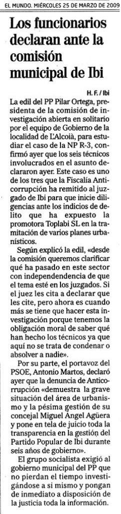 El Mundo 25-03-09