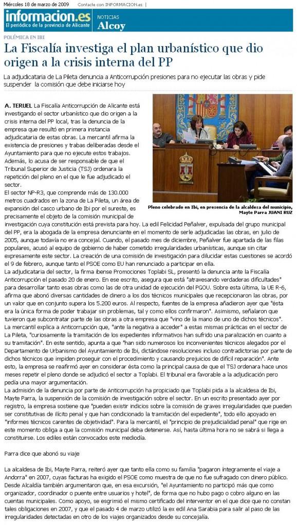 Información 18-03-09