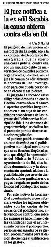 El Mundo 19-05-09