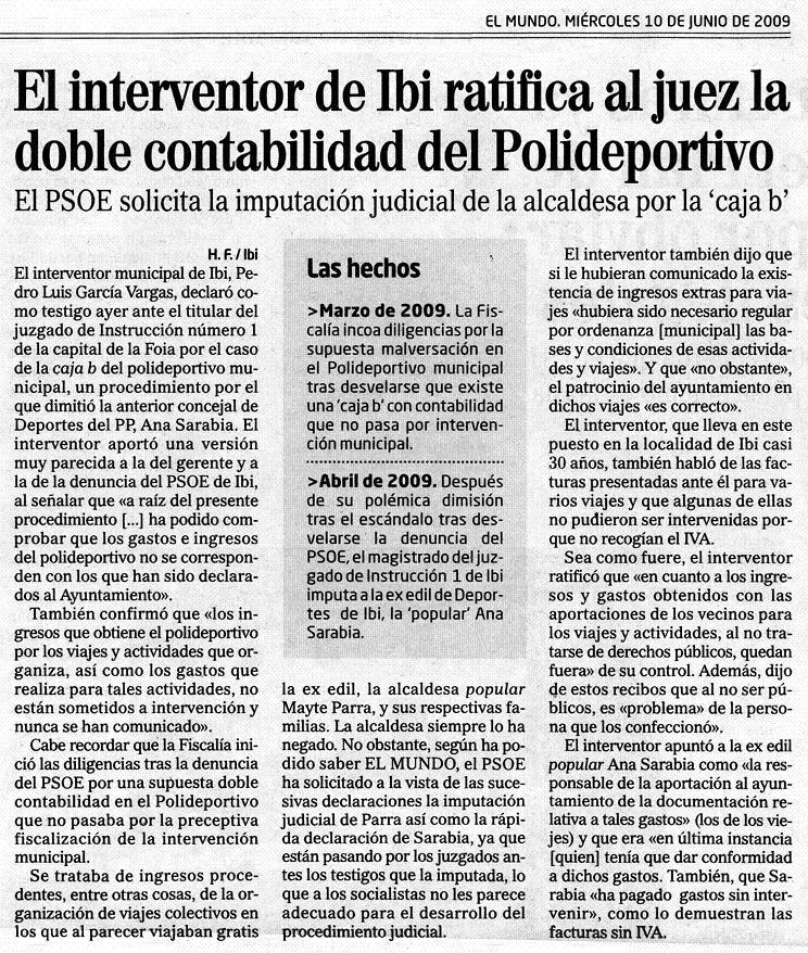El Mundo 10-06-09