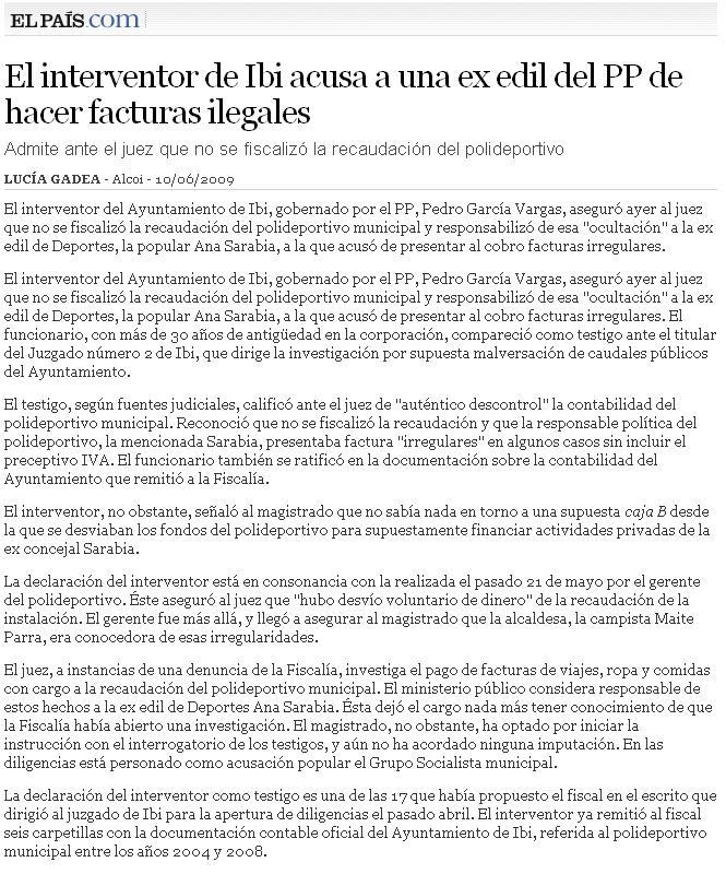 El País 10-06-09