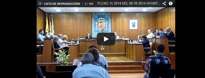 Vídeo Pleno del 06/10/2014