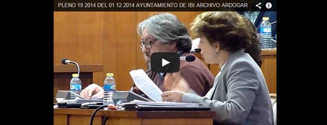 Pleno Ordinario 19-2014 del 01-12-2014