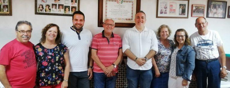El Grupo Socialista de Ibi se reúne con la Directiva de la AVV La Dulzura