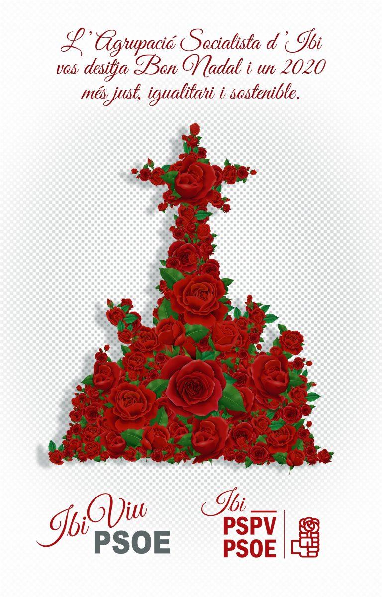 L'Agrupació Socialista d'Ibi vos desitja Bon Nadal