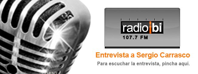 Entrevista a Sergio Carrasco en Radio Ibi – 19/02/2020