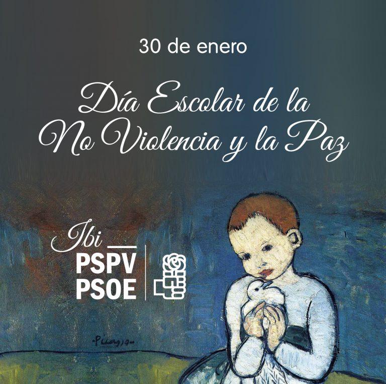 """30 de enero: Día Escolar de la No Violencia y la Paz"""""""