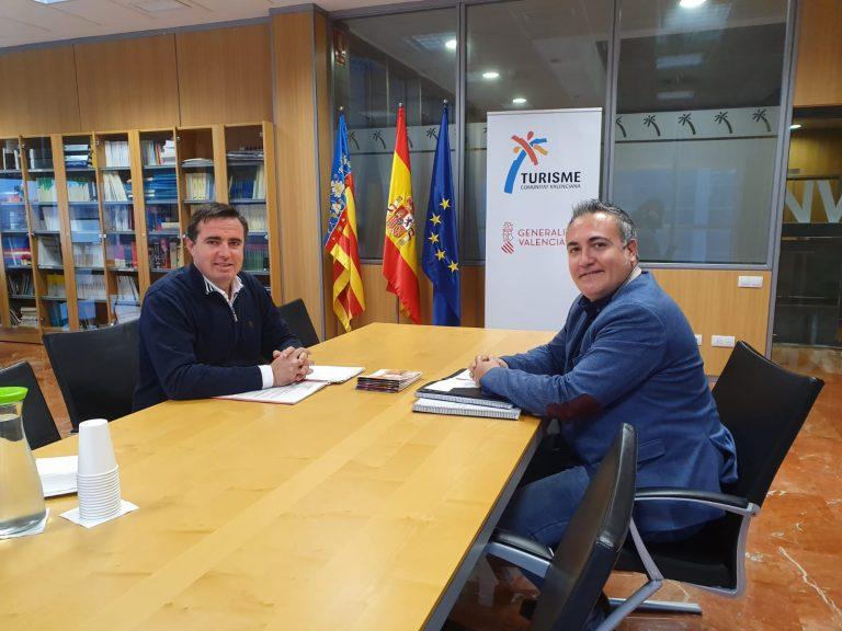 El PSOE de Ibi se reúne con el Director General de Turismo de la Comunidad Valenciana