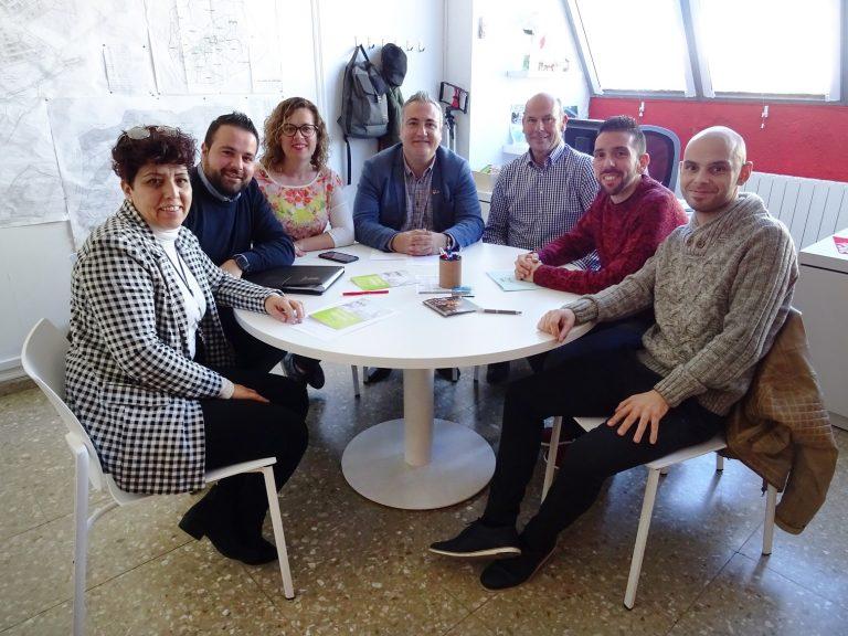 El PSOE de Ibi se reúne con la dirección de la Mancomunitat de l'Alcoià – El Comtat