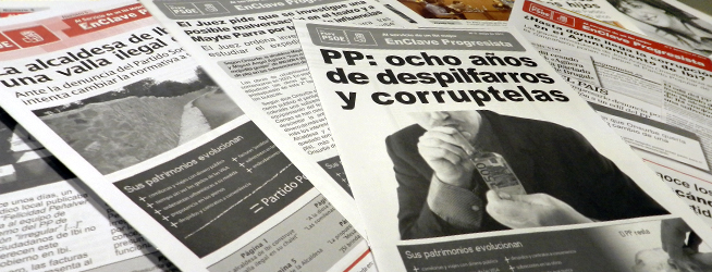 En mayo de 2011 el PSOE ya alertaba de la duplicación de facturas