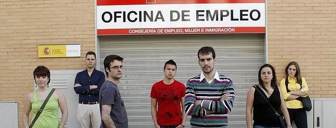 Jóvenes sin trabajo