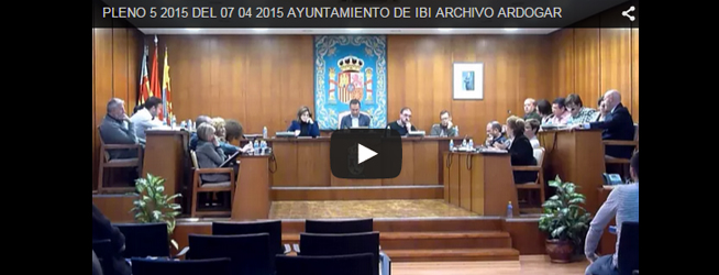 Pleno del 7 de abril de 2015