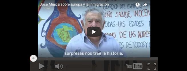 """VÍDEO – """"José Mújica sobre Europa y la inmigración"""""""