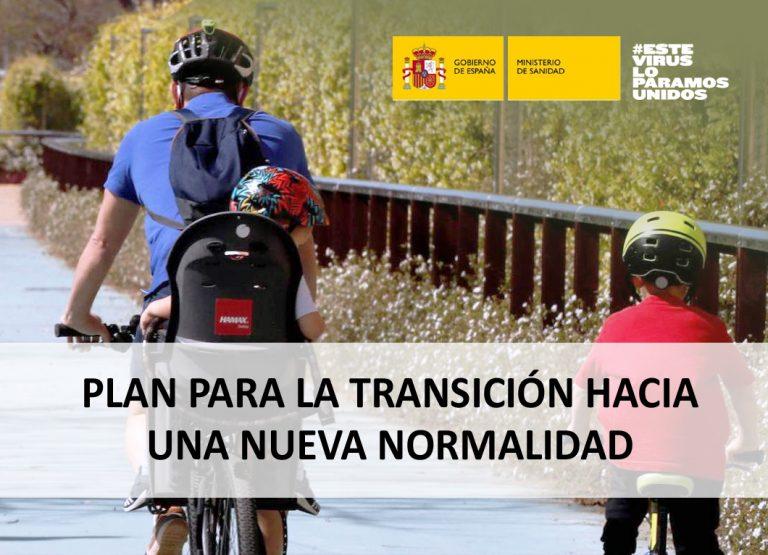 Plan para la transición hacia una nueva normalidad 28/04/2020