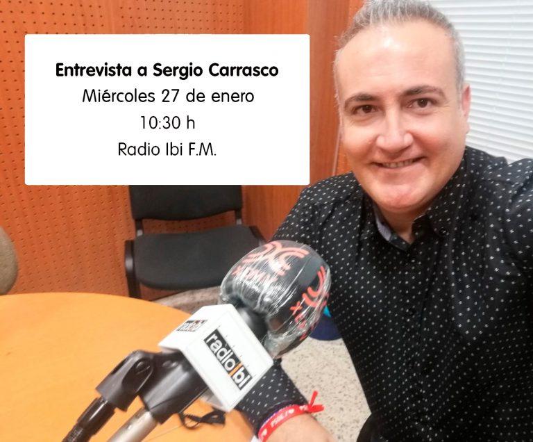Entrevista a Sergio Carrasco en Radio Ibi – 27/01/2021