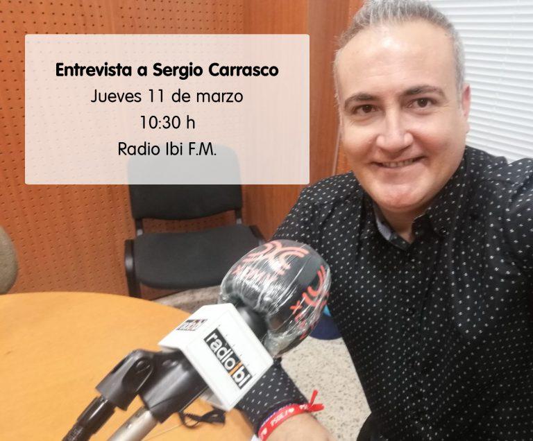 Entrevista a Sergio Carrasco en Radio Ibi – 11/03/2021
