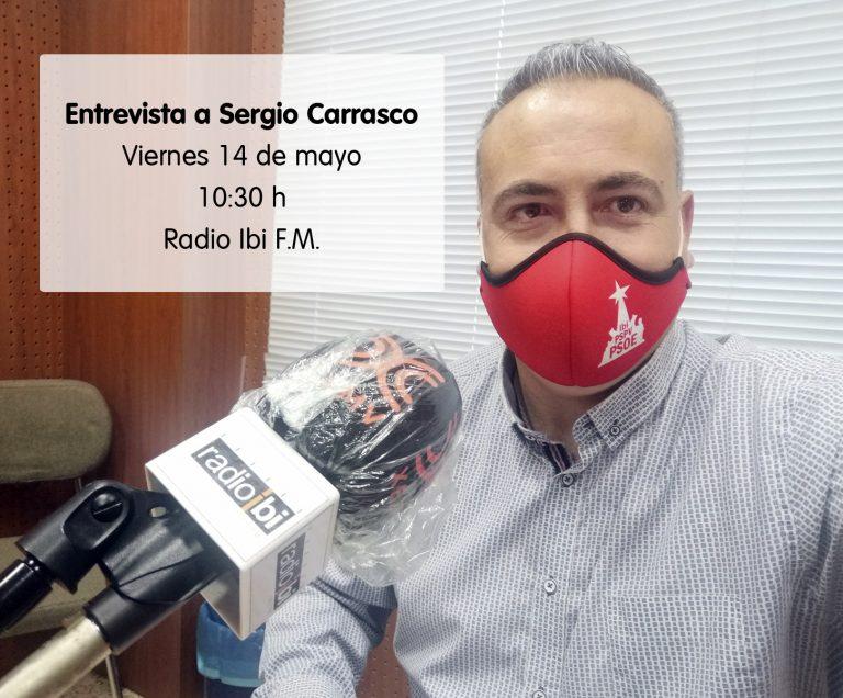 Entrevista a Sergio Carrasco en Radio Ibi – 11/06/2021